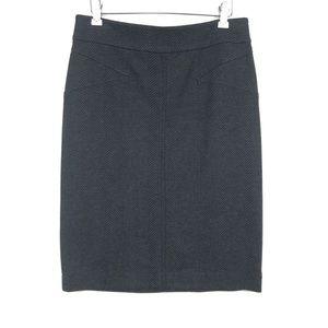 BCBGMaxazria Pencil Skirt Stretch Straight Gray M
